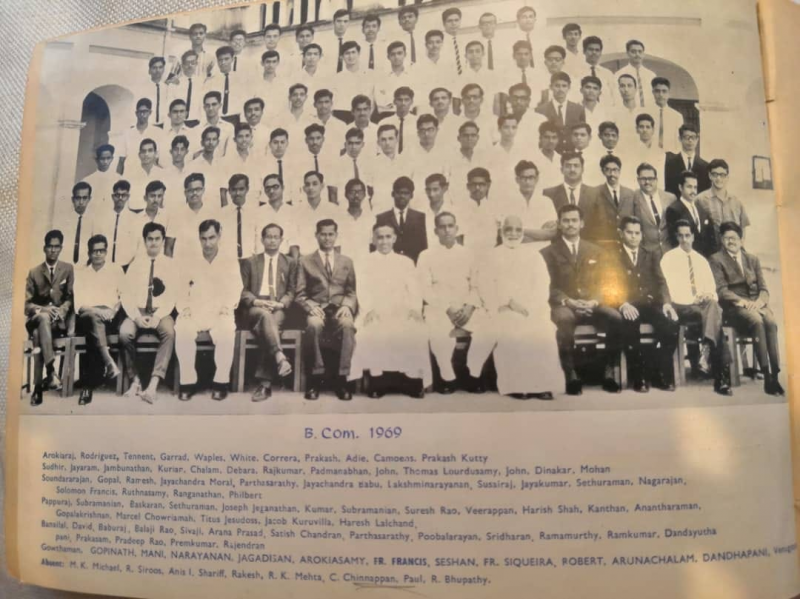 Album Image - CLASSES OF 1969 - LOYOLA COLLEGE